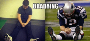 Bradying is sweeping the nation (for the next 48 hours or so): BRADYING  MHK Bradying is sweeping the nation (for the next 48 hours or so)