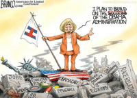 Cartoon of the Week:: BRANCO  Americans for Limited  Government  CO2016  UOBS  FOREIGN  TRS  BENGALI  I PLAN TO BUILD  ON THE CCS  OF THE OBAMA  ADMINISTRATION Cartoon of the Week: