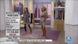 Fashion, Target, and Tumblr: BRAND NEW  498-088  Wendy Williams  Faux Suede  Over-the-Knee  Boot  HSN Price  134.90  Fashion Eat Event  $119.90  HSN.COM  00284 310015 Fitpar ar 23.98 mith HSN Card  HSN la-femme-noelle: imgoingthereagain:  acupoftheo:   theshitneyspears: NAOMI CAMPBELL IS SHAKING LOOOOOOOOOOOL   Her shape bothers me  If you stand under her boobs in a rainstorm, you won't even get wet.