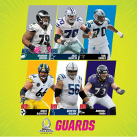 Martin, Memes, and Orlando: BRANDON  BROOKS  ZACK  MARTIN  TRAI  TURNER  656  73  DAVID  DECASTRO  QUENTON  NELSON  MARSHAL  YANDA  부 GUARDS  PRO BOWL  ORLANDO 2019 2019 #ProBowl Guards! https://t.co/BjWCPBCSF2