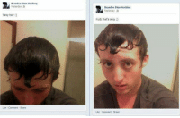Dank, Molly, and Pop: Brandon Dion Hocking  Yesterday  Sexy hair  Like Comment Share  Brandon Dion Hocking  Yesterday  Fuck that's sexp  Like Comment Share popped a molly im sweating yeah ~Nocturnav