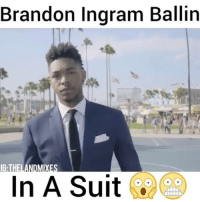 Ingram is a Savage😂🙌 - @thelandmixes - Follow @dunkfilmz for more!: Brandon Ingram Ballin  IG THE  In A Suit Ingram is a Savage😂🙌 - @thelandmixes - Follow @dunkfilmz for more!