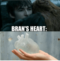 Please don't take this as indication that Bran is the Night King lol https://t.co/N7Fy4N76Fg: BRAN'S HEART Please don't take this as indication that Bran is the Night King lol https://t.co/N7Fy4N76Fg