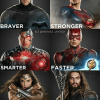 "UNITED! The Justice League looks so badass and I'm still hype from that trailer! All day I've been going around singing ""come together, right now""😂 Edit by: @heroes_united justiceleague batman superman wonderwoman flash aquaman cyborg batmanvsuperman batfleck thebatman brucewayne benaffleck flezra theflash ezramiller clarkkent manofsteel henrycavill dianaprince galgadot jasonmomoa rayfisher dc dceu dccomics zacksnyder: BRAVER  SMARTER  STRONGER  IG HEROES UNITED  FASTER UNITED! The Justice League looks so badass and I'm still hype from that trailer! All day I've been going around singing ""come together, right now""😂 Edit by: @heroes_united justiceleague batman superman wonderwoman flash aquaman cyborg batmanvsuperman batfleck thebatman brucewayne benaffleck flezra theflash ezramiller clarkkent manofsteel henrycavill dianaprince galgadot jasonmomoa rayfisher dc dceu dccomics zacksnyder"