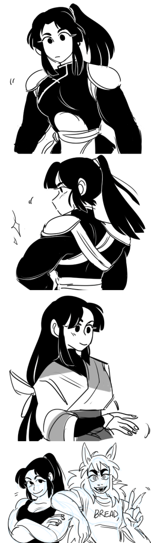 nyazuline: drew some BIG BUFF sangos a couple weeks ago and almost forgot to post /_\  and also inuyasha : BREAD nyazuline: drew some BIG BUFF sangos a couple weeks ago and almost forgot to post /_\  and also inuyasha