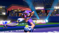 Serena Williams, Break, and Match: BREAK  BREA Serena Williams getting visibly frustrated in her US Open match against Naomi Osaka (2018)