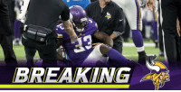 Dalvin Cook initially diagnosed with complete ACL tear: https://t.co/ZNU7vHwtca (via @RapSheet + @TomPelissero) https://t.co/VTDD7LYAnU: BREAKIIN Dalvin Cook initially diagnosed with complete ACL tear: https://t.co/ZNU7vHwtca (via @RapSheet + @TomPelissero) https://t.co/VTDD7LYAnU