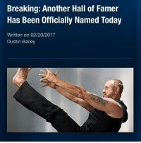 Instagram, Memes, and The Rock: Breaking: Another Hall of Famer  Has Been Officially Named Today  Written on 02/20/2017  Dustin Bailey Earlier today it was announced that Diamond Dallas Page would join Teddy Long, The Rock 'N' Roll Express and Kurt Angle in WWE's Hall of Fame Class of 2017. I'd like to take a moment to congratulate DDP for this achievement it is very well deserved (also he looks incredible for a 60 year old). Picture Credit: Wrestling Rumors App Information Credit: Wrestling Rumors App wwe raw wrestlemania nxt wrestlemania32 wwenetwork wrestling awesome banter instagram wwesupercard supercard wweuk wwelive wweuniverse ddp hof halloffame wwehof