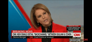 "Oh she had a opinion !!!🤣: BREAKING NEWS  EX-TRUMP CAMPAIGN CHAIR  MANAFORT SENTENCED  BREAKING NEWS  CNN: NEW EMAILS DETAIL ""BACKCHANNEL"" BETWEEN GIULIANI&COHEN  Gloria Borger