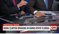"""Anderson Cooper mocks John King over Hillary Clinton phone analogy: """"If Hillary Clinton loses one of these devices in the next seven days she still wins the election.""""  http://cnn.it/2fb9wNT: BREAKING NEWS  SOON: CLINTON SPEAKING IN SWING-STATE FLORIDA  6:17 PM PT  AC360 Anderson Cooper mocks John King over Hillary Clinton phone analogy: """"If Hillary Clinton loses one of these devices in the next seven days she still wins the election.""""  http://cnn.it/2fb9wNT"""