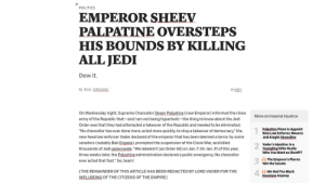 Breaking News: The First Galactic Empire: Breaking News: The First Galactic Empire