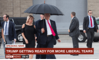 Maximus, Memes, and Breaking News: BREAKING NEWS  TRUMP GETTING READY FOR MORE LIBERAL TEARS  IBB NEWS 09:10 It just doesn't stop.  Disdainus Maximus