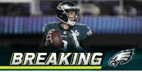 Philadelphia Eagles, Memes, and 🤖: BREAKING .@NickFoles will start at QB for @Eagles in season opener: https://t.co/CtFw8u0yEd (via @RapSheet) https://t.co/bkFX4m7XgT