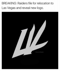 You guys don't miss a beat. 😂  Credit - Dan Worthington: BREAKING: Raiders file for relocation to  Las Vegas and reveal new logo. You guys don't miss a beat. 😂  Credit - Dan Worthington