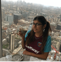Memes, Mia Khalifa, and Charts: BREAKING: West Ham have completed the signing of goalkeeper Mia Khalifa.  Great signing, her ball handling skills are off the charts. https://t.co/rYD7eACQlu