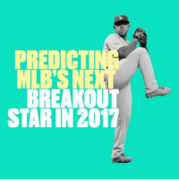 Who are the MLB's breakout star candidates in 2017? ClimbOn: BREAKOUT  STAR IN 2017 Who are the MLB's breakout star candidates in 2017? ClimbOn