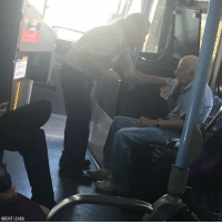 ACT OF KINDNESS: Amid sweltering summer heat, Nevada bus driver Mike Blair noticed an elderly man exhibiting signs of dehydration. So he brought the man onto his air-conditioned bus and helped him drink a cool bottle of water from his own lunch box. After about 10 minutes, the man was back on his feet and thanked the driver as he exited the bus.: BRENT LEABU ACT OF KINDNESS: Amid sweltering summer heat, Nevada bus driver Mike Blair noticed an elderly man exhibiting signs of dehydration. So he brought the man onto his air-conditioned bus and helped him drink a cool bottle of water from his own lunch box. After about 10 minutes, the man was back on his feet and thanked the driver as he exited the bus.
