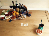 Dank, Food, and Thought: Brexit Food for thought.   (For my British fans, I really am bewildered and heartbroken. Can't you get a do-over?)