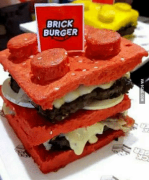 Lego, Philippines, and Hope: BRICK  BURGER Lego burger here in Philippines, hope you like it guys!