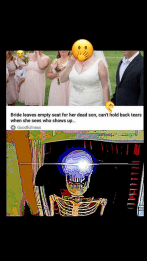 Back, Her, and Who: Bride leaves empty seat for her dead son, can't hold back tears  when she sees who shows up.  Goodfullness 🅱️ELETON 🅱️OY 👈
