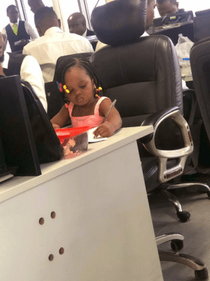 Bring your child to work day: Bring your child to work day