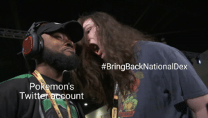 Twitter, Invest, and Template:  #BringBackNational Dex  SUNG  Pokemon's  Twitter account  TANT NINA  AMSUN Invest in this new template! Endless possibilities!