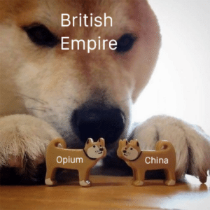 o p i u m w a r: British  Empire  Opium  China o p i u m w a r