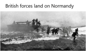 You'll take my life but I'll take yours too You'll fire your MG42, but I'll run you through!: British forces land on Normandy You'll take my life but I'll take yours too You'll fire your MG42, but I'll run you through!