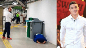 Mean, British, and Olympics: British judo champion cries behind bin after Rio Olympics defeat. This is what the Olympics mean