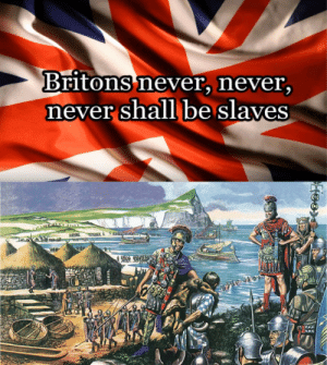 curb your patriotic lyrics: Britons never, never,  never shall be slaves curb your patriotic lyrics