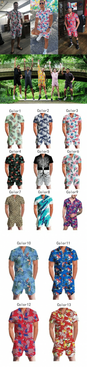 gobetterworld: Popular Beach Rompers Shorts These fashion pineapple plants pattern zipper front short sleeve beach rompers shorts. Especially suitable for going to the beach and enjoying a nice holiday with friends. They will be the best gift for your friends and family.  13 Color Designs Available Limited Time Discount (Save: $11.68) Enjoy Free Shipping   Love them??? Here are links   Are you ready for your summer vacation? Hurry pick yours!!! : Britt  54m ago  66  ...   Color2  Color3  Color1  Color4  Color5  Color6  Color8  Color7  Color9   Color10  Color11  Color 12  Color13 gobetterworld: Popular Beach Rompers Shorts These fashion pineapple plants pattern zipper front short sleeve beach rompers shorts. Especially suitable for going to the beach and enjoying a nice holiday with friends. They will be the best gift for your friends and family.  13 Color Designs Available Limited Time Discount (Save: $11.68) Enjoy Free Shipping   Love them??? Here are links   Are you ready for your summer vacation? Hurry pick yours!!!