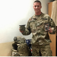 Memes, Thank You, and 🤖: BRO  US Shoutout to PFC E3 Spencer Brown out of Fort Bliss! A combat engineer rockin' our MudJugs 🤘🏻🇺🇸 Thank you for your service brother. 🦅 mudjug packdipspit supportthetroops