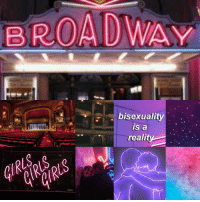 Target, Tumblr, and Aesthetic: BROADWAY  bisexuality  s a  realit thatgayshitmoodboards:  bisexual theatre kid aesthetic!