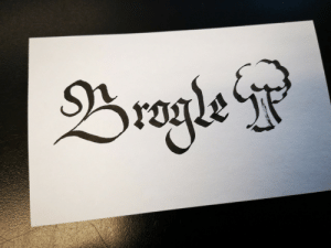 theshitpostcalligrapher:  req'd by @queenofthesafetypinsokay so it looks more like a tree than a brogle i triedmy best: Brogle theshitpostcalligrapher:  req'd by @queenofthesafetypinsokay so it looks more like a tree than a brogle i triedmy best