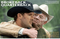 Nfl, Rufus, and Set: BROKEBACK  QUARTERBACK  MEME  FEATURINGSONGSAND NEWPREFORMACES  BY WILLIE NELSON, EMMYLOU HARRIS  RUFUS WAINWRIGHT AND TEDDY THIOMPSON  TO  ROMMO  JERRY JONES  ARRETT  ORTON Tony Romo set to star in new film