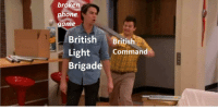 Phone: broken  phone  game  British British  Command  Brigade
