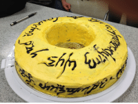 brolin-pendragonlord:  writtenwor-l-d:  atthetopofthecircus:  bemusedlybespectacled:  superaliceface:  belgianbollocks:  cynicalpie:  atomicfox:  deadheadwookie27:  tracydear:  one cake to rule them all.  One cake to find them  :O  Ummmm Totally making this. It doesn't even need it be for a birthday party. I will buy some cake mix and have at it.  Oh lord  It began with the baking of the Great Cakes. Three cakes were given to the Elves, immortal, wisest, and fairest of all beings. Seven cakes to the Dwarf Lords, great miners and craftsmen of the mountain halls. And nine… nine cakes were gifted to race of Men who, above all else, desire sugar.  But they were, all of them, deceived, for another cake was made. In the land of Mordor, in the ovens of Mount Doom, the Dark Lord Sauron baked in secret a master Cake, to control all others. And into this Cake he poured his vanilla, his chocolate and his will to consume all cakes. One Cake to rule them all.   One Cake to rule them all: One c. sugar to flavor them, One c. flour to bring them all, and an egg to, in the oven, bind them.   I just kept reading and it just kept getting better  : brolin-pendragonlord:  writtenwor-l-d:  atthetopofthecircus:  bemusedlybespectacled:  superaliceface:  belgianbollocks:  cynicalpie:  atomicfox:  deadheadwookie27:  tracydear:  one cake to rule them all.  One cake to find them  :O  Ummmm Totally making this. It doesn't even need it be for a birthday party. I will buy some cake mix and have at it.  Oh lord  It began with the baking of the Great Cakes. Three cakes were given to the Elves, immortal, wisest, and fairest of all beings. Seven cakes to the Dwarf Lords, great miners and craftsmen of the mountain halls. And nine… nine cakes were gifted to race of Men who, above all else, desire sugar.  But they were, all of them, deceived, for another cake was made. In the land of Mordor, in the ovens of Mount Doom, the Dark Lord Sauron baked in secret a master Cake, to control all others. And into t