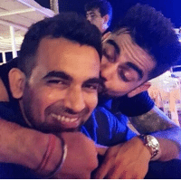 Memes, 🤖, and Virat Kohli: BROMANCE! #Bachelorhood  Virat Kohli and Zaheer Khan