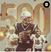 Memes, Peyton Manning, and Broncos: BRONCOS  18 TB12 joins @BrettFavre and Peyton Manning as the only QBs with 500 career TD passes! (via @nflthrowback) https://t.co/jQLNFOj7zt