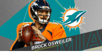 Brock Osweiler (@bosweiler17) agrees to terms with @MiamiDolphins: https://t.co/TfmV0GDHl2 (via @RapSheet) https://t.co/owKrNC7AbO: BRONCOS  BROCK osWEILER Brock Osweiler (@bosweiler17) agrees to terms with @MiamiDolphins: https://t.co/TfmV0GDHl2 (via @RapSheet) https://t.co/owKrNC7AbO