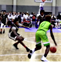 Bronny Jr w/ the DIRTY ANKLE BREAKER!! https://t.co/VpjDPCERsq: Bronny Jr w/ the DIRTY ANKLE BREAKER!! https://t.co/VpjDPCERsq