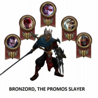 Memes, Slayer, and 🤖: BRONZORD, THE PROMOS SLAYER How NOT to do your promo series! :D