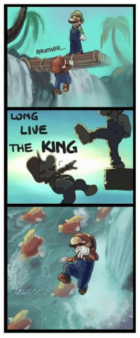 BROTHER...  LUNG  LIVE  THE KING Long live the king!