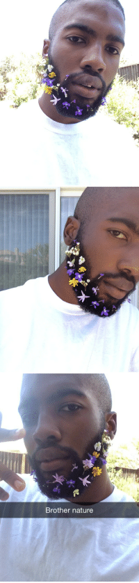 """<p><a href=""""http://bagelbrother.tumblr.com/post/94293514705/someone-was-like-hey-do-a-flower-beard-thing-and-i"""" class=""""tumblr_blog"""" target=""""_blank"""">bagelbrother</a>:</p>  <blockquote><p>someone was like hey do a flower beard thing and i was like okay</p></blockquote>: Brother nature <p><a href=""""http://bagelbrother.tumblr.com/post/94293514705/someone-was-like-hey-do-a-flower-beard-thing-and-i"""" class=""""tumblr_blog"""" target=""""_blank"""">bagelbrother</a>:</p>  <blockquote><p>someone was like hey do a flower beard thing and i was like okay</p></blockquote>"""