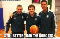Casillas, Benzema and Varane from Real Madrid Credit: Sport Trolls & Soccer Memes  http://whatdoumeme.com/meme/nxfa1x: Brought by facebook.com/NBAMemes  STILL BETTER THAN THE BOBCATS Casillas, Benzema and Varane from Real Madrid Credit: Sport Trolls & Soccer Memes  http://whatdoumeme.com/meme/nxfa1x