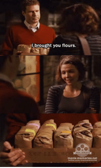 Memes, 🤖, and Stranger Than Fiction: brought you flours.  MOVIE MEMORIES  movie-memories net  twitter.com/  movie memories Stranger than Fiction