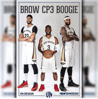 Memes, 🤖, and Ims: BROW CP3 BOOGIE  ORLEAN  AN SPALDING  A  VN DESIGN  OraVNDSGN I'm just going to leave this here. browcp3boogie whatif VNdesign
