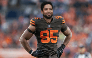 Myles Garrett after finding out his suspension wasn't going to be reduced... https://t.co/wOcErrGh0C: BROWNS  35  @NFL MEMES Myles Garrett after finding out his suspension wasn't going to be reduced... https://t.co/wOcErrGh0C