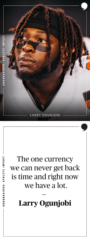 .@Browns defensive tackle Larry Ogunjobi (@Mr_Ogunjobi) shares some words of motivation and ways to stay positive during these times.   Read more: https://t.co/y0fPv9gmGK https://t.co/fFBPmMdiMz: .@Browns defensive tackle Larry Ogunjobi (@Mr_Ogunjobi) shares some words of motivation and ways to stay positive during these times.   Read more: https://t.co/y0fPv9gmGK https://t.co/fFBPmMdiMz
