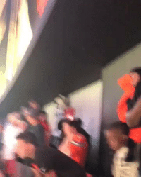 Football, Nfl, and Sports: Browns fans can't beat anyone so they beating themselves https://t.co/aVLJgPqLo3